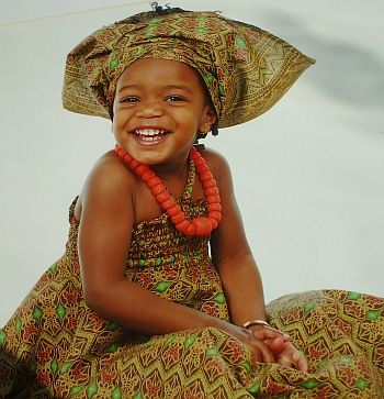 african clothes to african attire for women and children picture